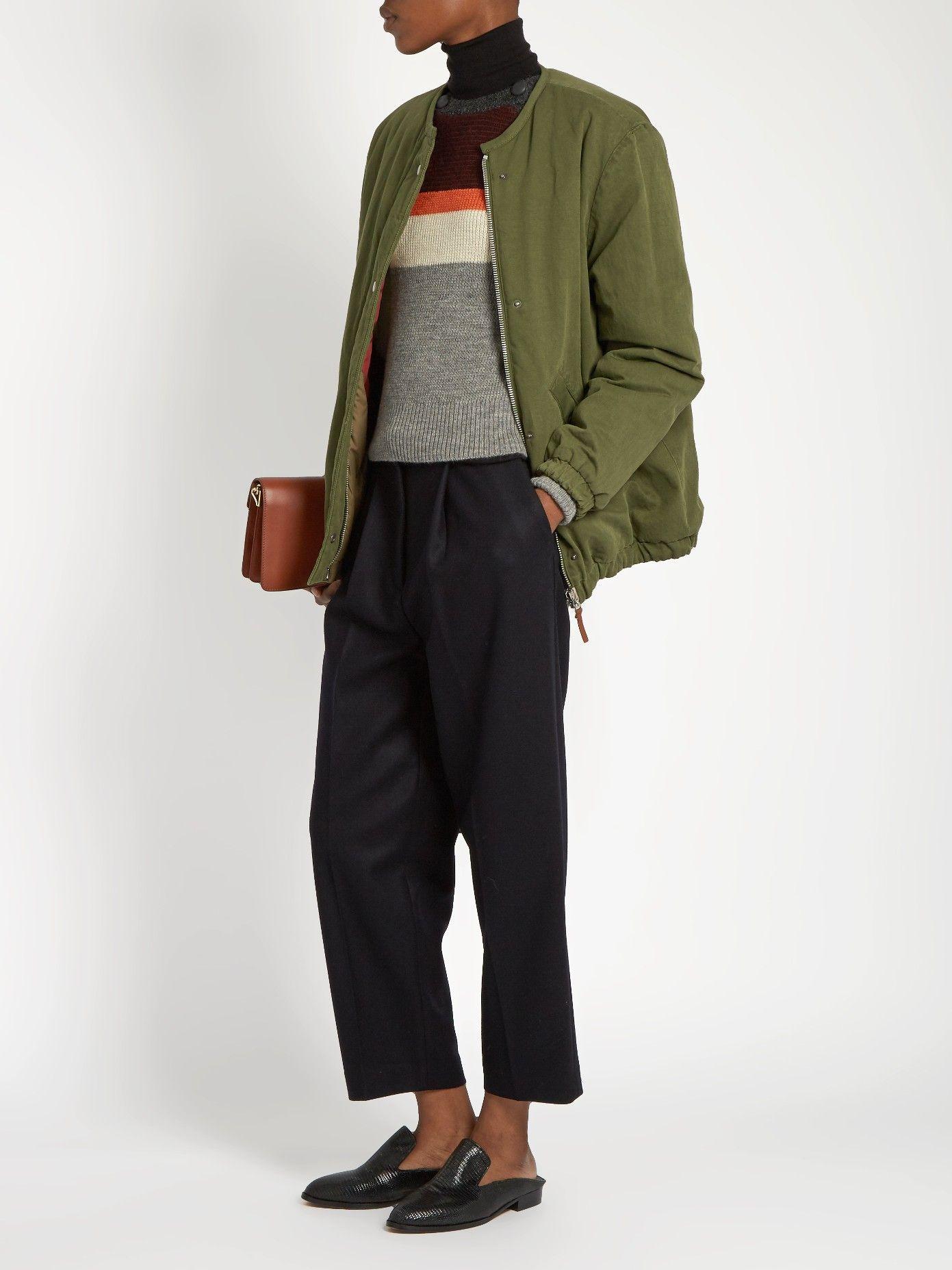 Celia Reversible Jacket Isabel Marant Etoile Matchesfashion Us Reversible Jackets Outerwear Trends Jackets [ 1855 x 1391 Pixel ]