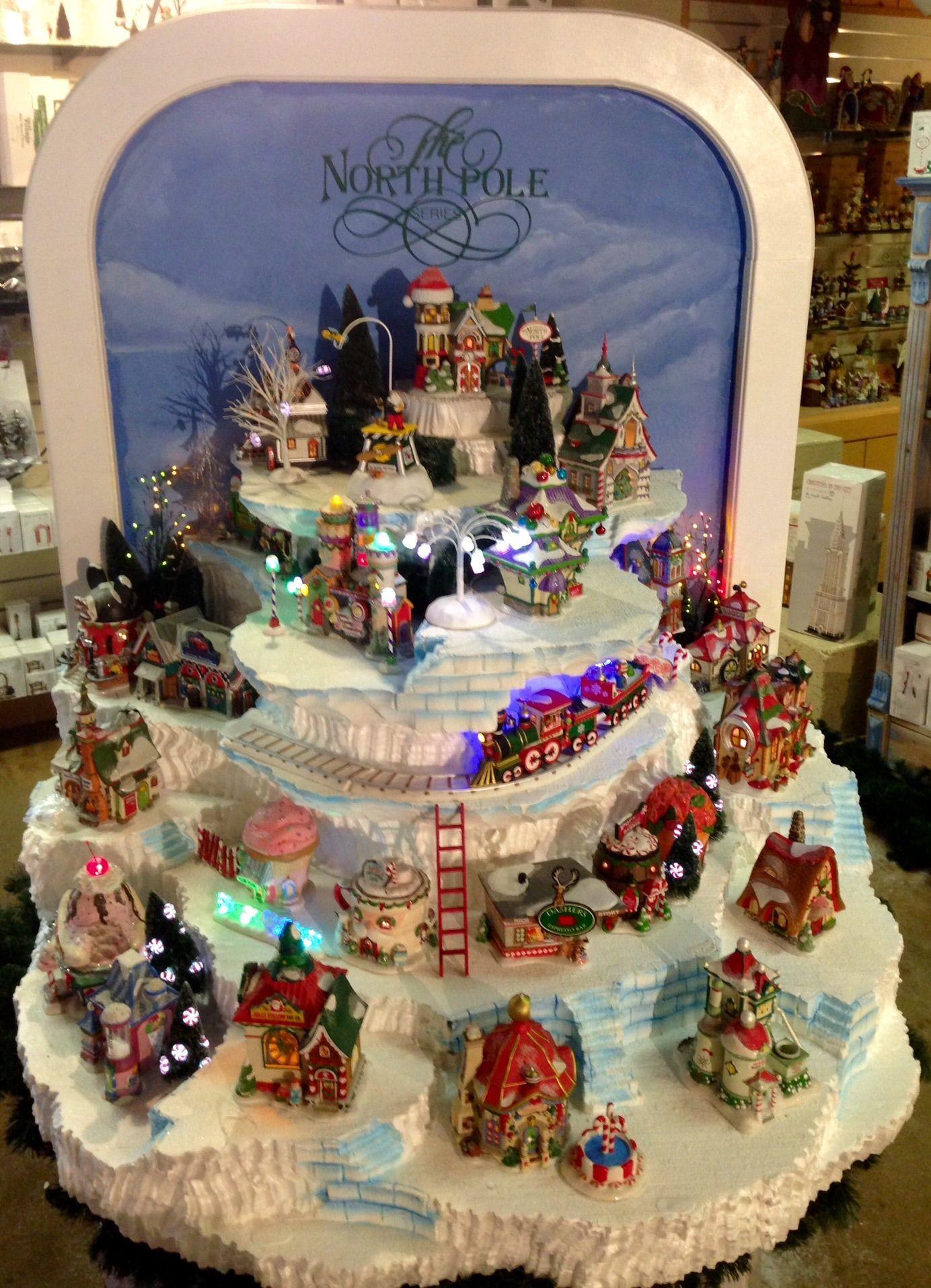 North Pole | Showcase Displays | DEPT. 56 | Pinterest | Christmas ...