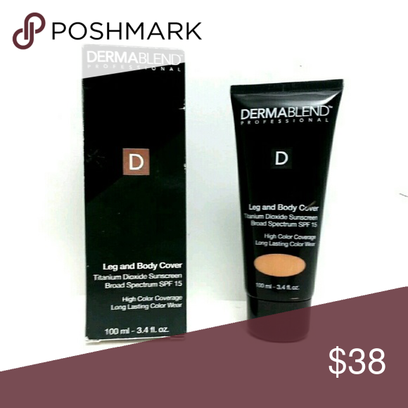 Dermablend Leg And Body Cover Make Up Spf 15 Spf 15 Spf Skin Tone Shades