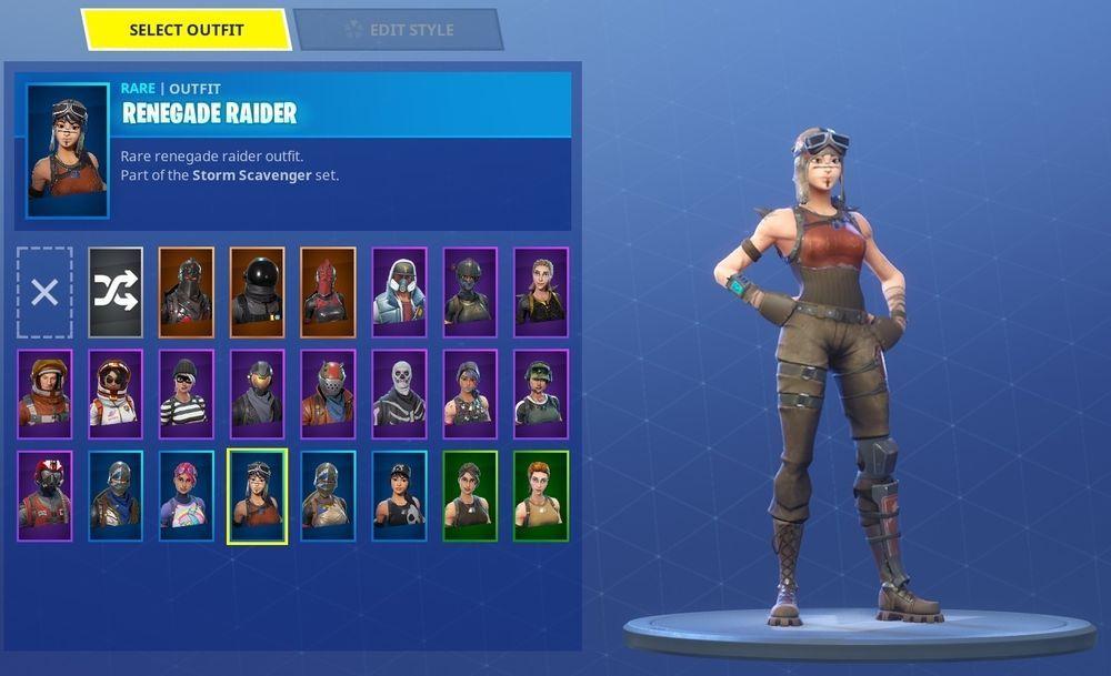 Fortnite Skin Renegade Raider Png Fortnite Aimbot Txt File