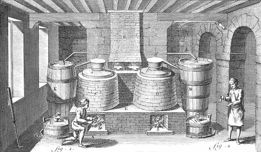 DISTILLERY, 18th CENTURY Photograph by Granger - DISTILLERY, 18th CENTURY Fine Art Prints and Posters for Sale