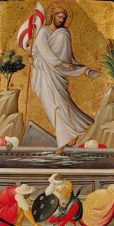 The Resurrection of Christ  ARTIST:Giovanni di Marco (Giovanni Dal Ponte)  DATE:15th century