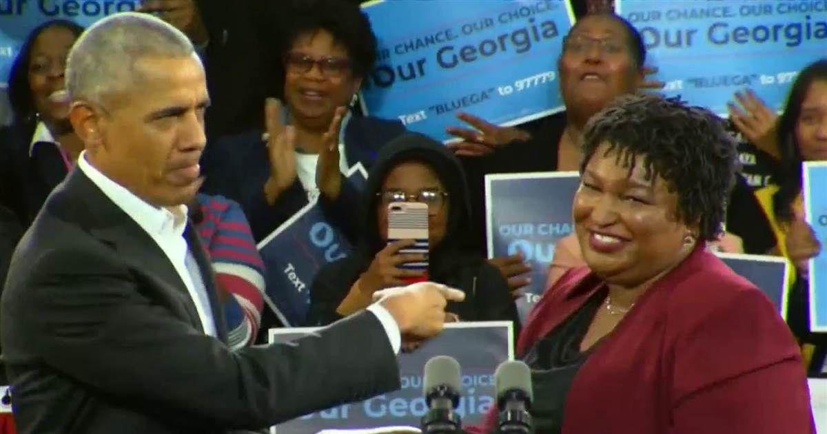 Obama stumps for Stacey Abrams in Georgia Black Presidents, Lesbian, Gay,  Obama,