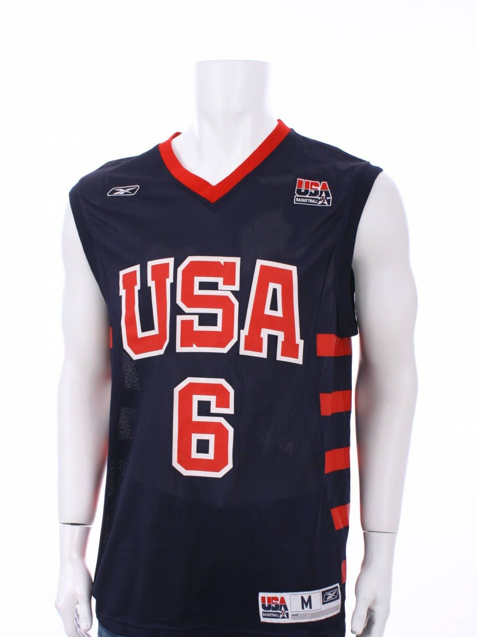 Vintage Tracy McGrady  6 USA Olympic Dream Team Basketball Reebok Jersey  Size M by VapeoVintage on Etsy 75b0c6823