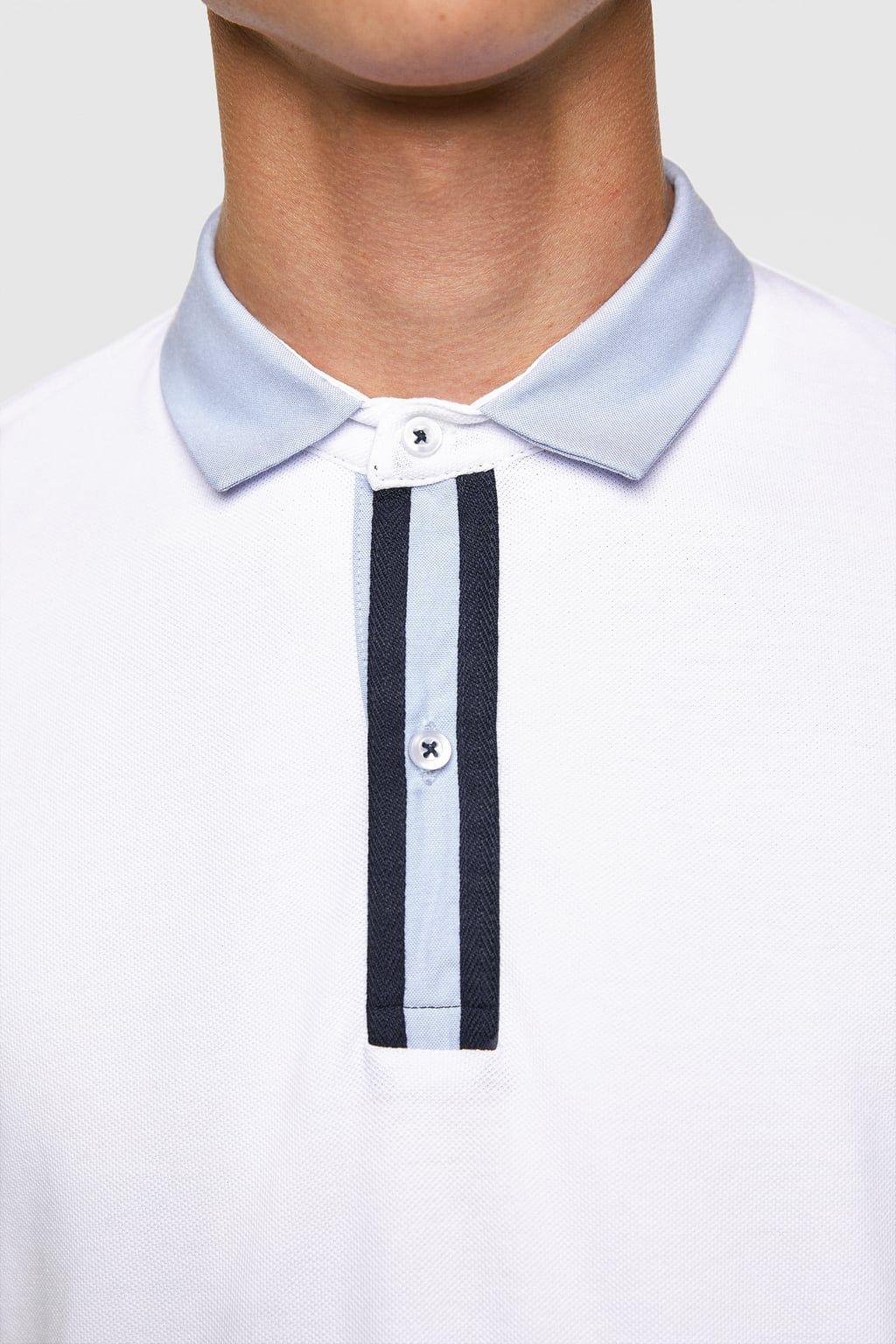 Image 5 Of Polo Shirt From Zara Men Polo Shirt In 2019 Polo