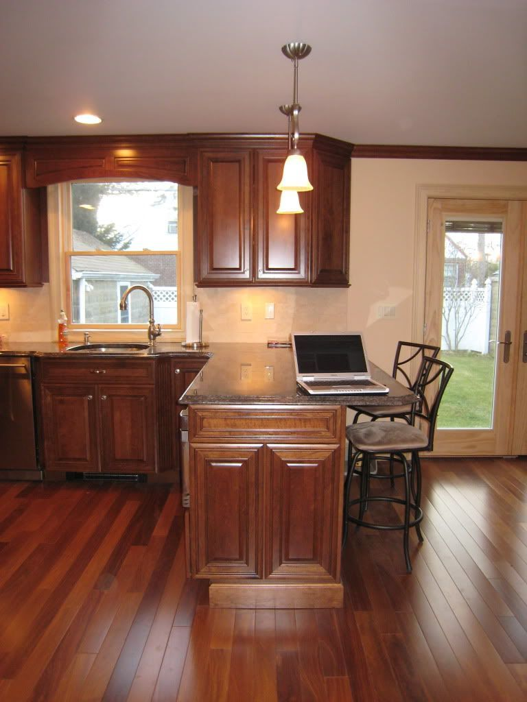 Cherry Wood Cabinets: Pictures, Ideas & Tips | Cherry wood ...