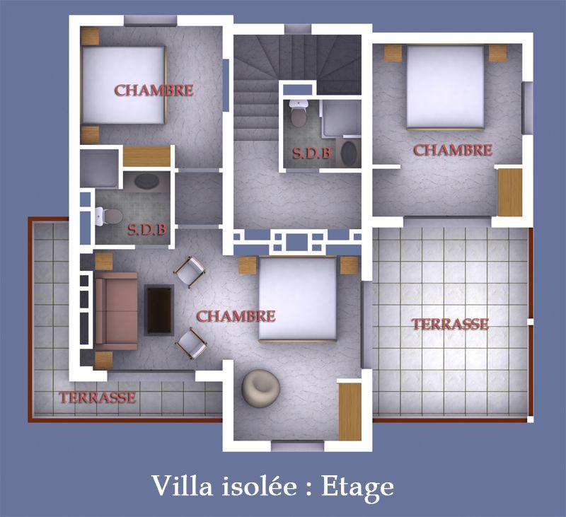 plan suite parentale avec salle de bain et dressing 7 tage disposant de rangement avec salle. Black Bedroom Furniture Sets. Home Design Ideas