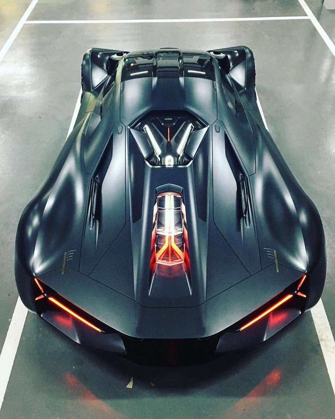 Lamborghini Terzo Millenio Hypercar Mobil Sport Mobil Mewah Mobil Keren
