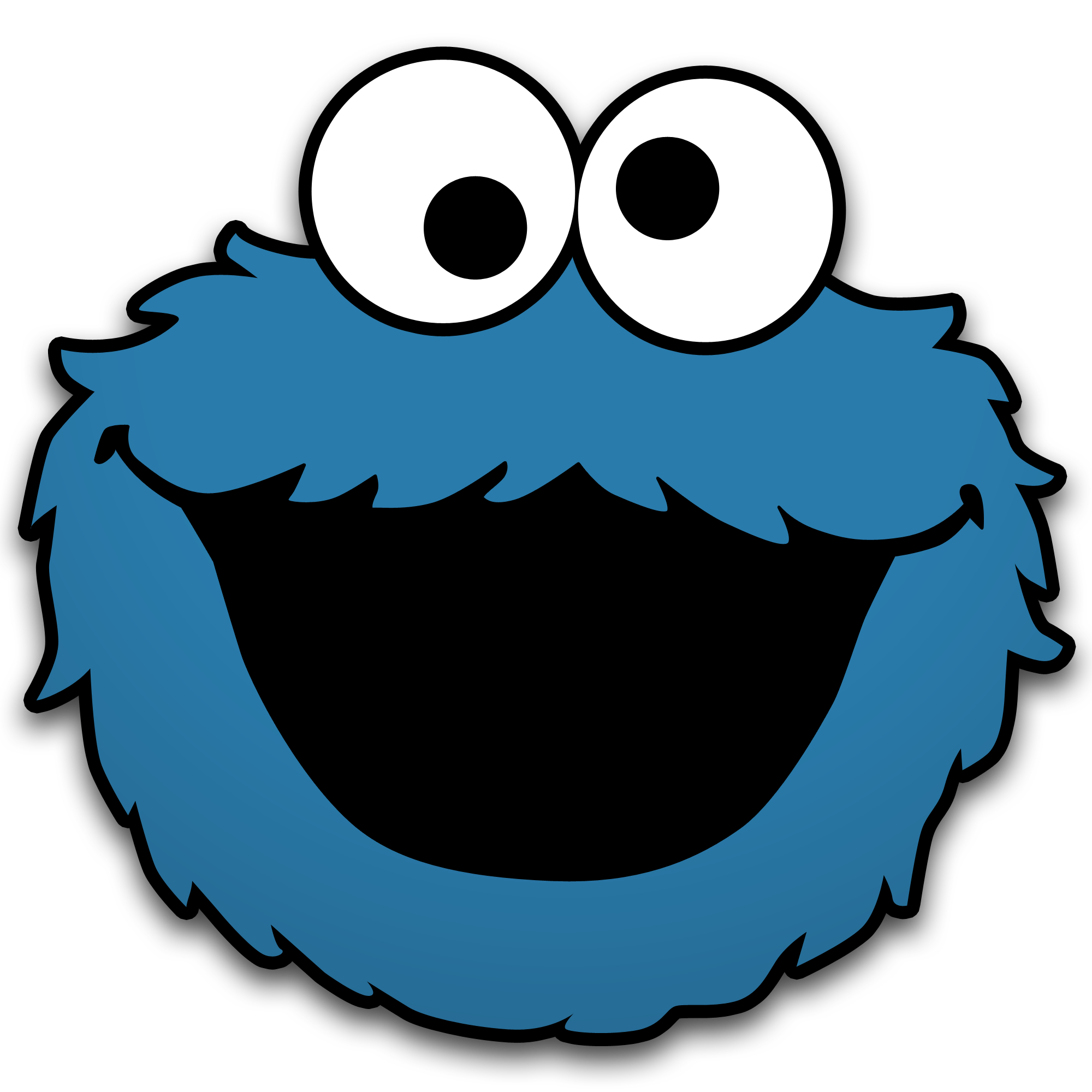 Cookie Monster By Neorame D4yb0b5 Png 2000 2000 Cookie Monster Pictures Cookie Monster Birthday Party Cookie Monster Shirt