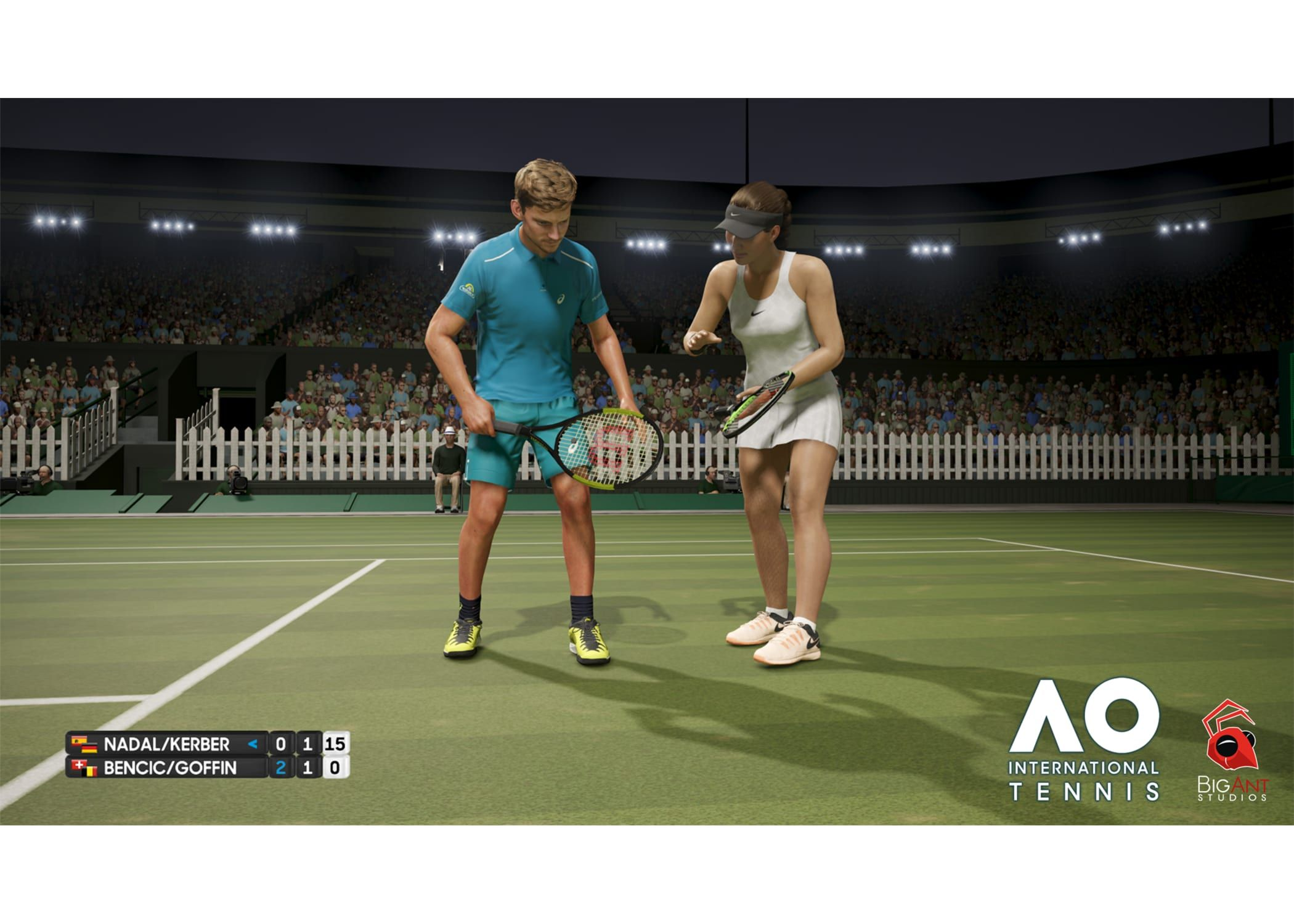 Ao International Tennis In 2020 Tennis Video Game Reviews Tennis Games