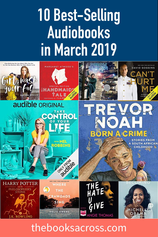 10 Best-Selling Audiobooks in February 2019   Books for me