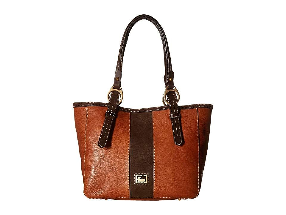 Dooney  Bourke Florentine Suede EastWest Skylar Tote NaturalBN Tmoro Tote Handbags Liven up your casual look with the sophisticated Dooney Bourke Florentine Suede EastWes...