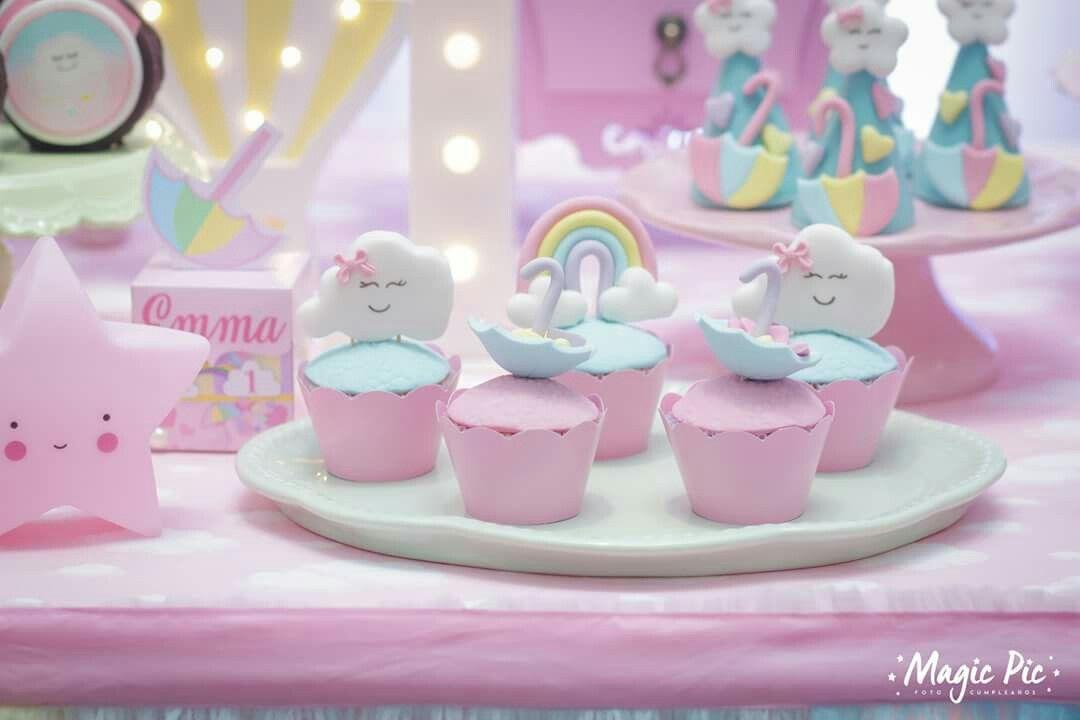 Raining Hearts Lluvia de Amor Cupcake Liner