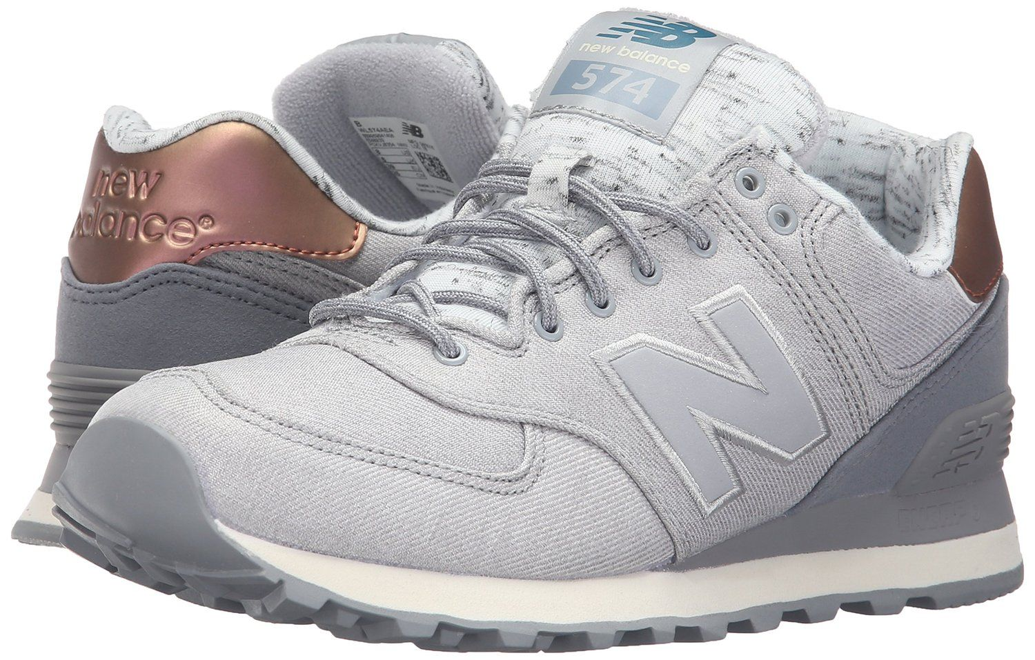 wl574 by new balance silver mink