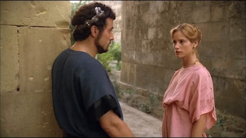 Rufus Sewell as Agamemnon & Sienna Guillory as Helen | Helen