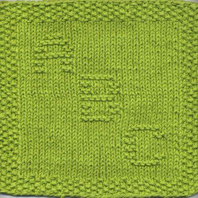 Abc Knit Dishcloth Knitting Patterns Dishclothes Washclothes