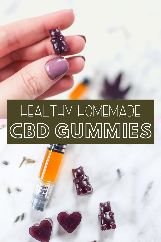 Homemade CBD Gummies Recipe Homemade gummies, Homemade
