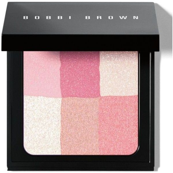 Bobbi Brown Pastel Pink Brightening Brick (€44) ❤ liked on Polyvore featuring beauty products, makeup, cheek makeup, blush, beauty, cosmetics, filler, pastel pink, bobbi brown cosmetics and blending brush