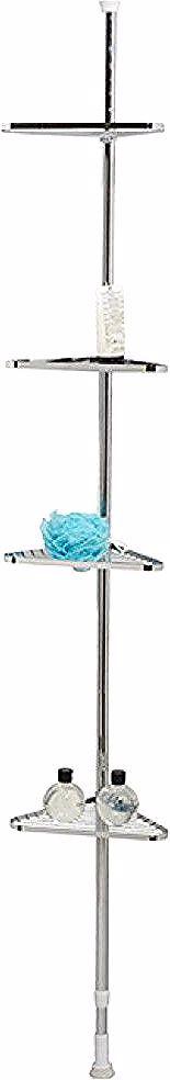 Etagere D Angle Salle De Bain Extensible 4 Niveaux Gifi 345976x Brushing Teeth Holder Bathroom