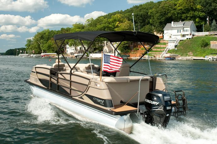 Pin by Harris Flotebote on Pontoons for Sale | Pontoon boats