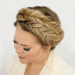 6. Braid 5-Double Fishtail Braids missysue Look just as sassy as this chic right here with this double fishtail braid by missysue. 7. Half-Up Braided Crown cupofjo And if you want to do a braided… # fishtail Braids crown 40 of the Best Cute Hair Braiding Tutorials # fishtail Braids casual