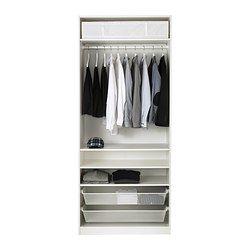Ikea kleiderschrank weiß mit schiebetüren  PAX Kleiderschrank - Scharnier - IKEA | LOFT Bedroom | Pinterest ...