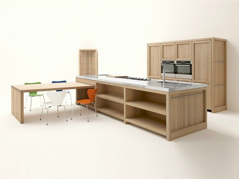 Cucine Componibili ged cucine componibili : CUCINA IN ROVERE CON ISOLA LEGNO VIVO BY GED CUCINE BY GED ...