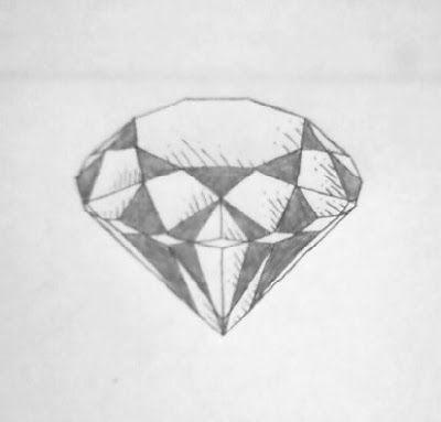Tattoo Diamante Desenho Diamante Diamante Tatuagem E Tatuagem