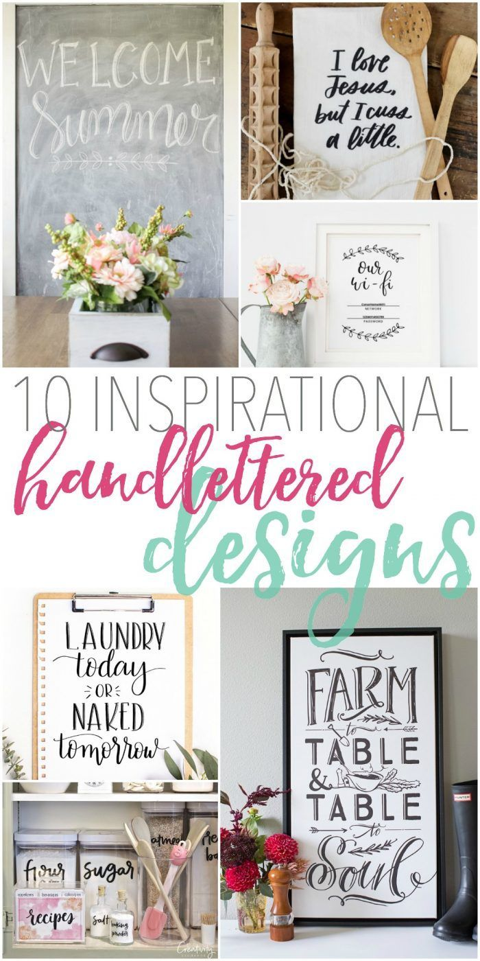 10 Inspirational Handlettered Designs + a beginner\'s guide to ...