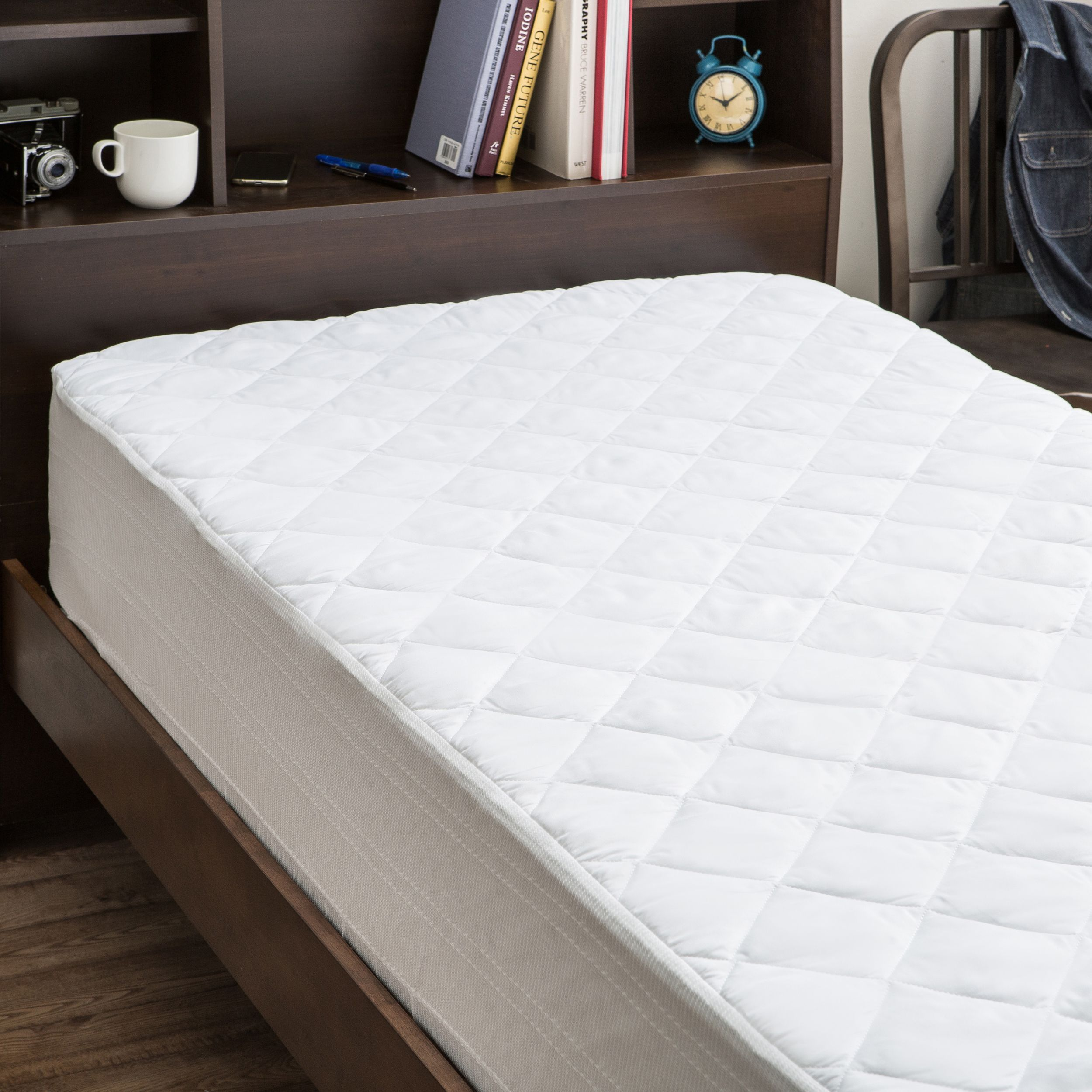 over overstock orders bath mattress shipping beautyrest free on bedding product protector pad king waterproof