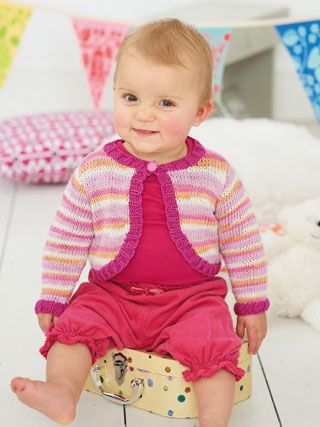 cf08520f12f2 Design from Smiley Little Stripes (403) features 13 handknits for ...