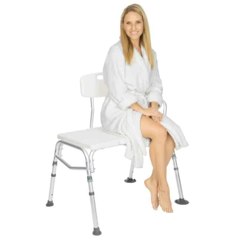 Vive Tub Transfer Bench Handicap Shower Chair Transfer Bench Shower Chair