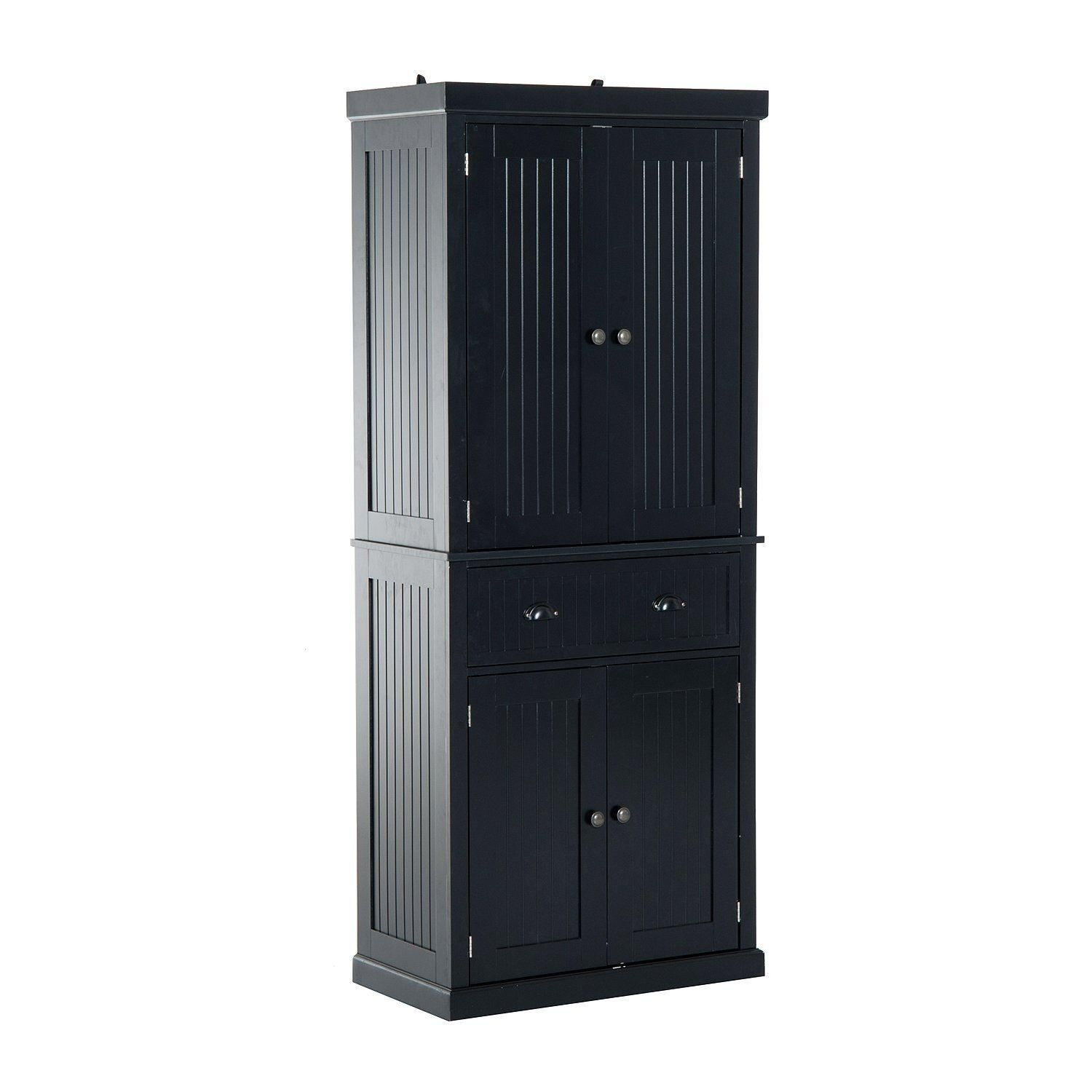 """HomCom Tall 72"""" Traditional Colonial Style Standing ..."""