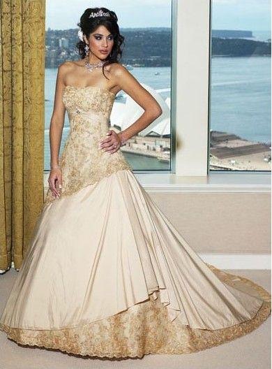 Champagne Colored Wedding Dress Wedding Dresses Wedding Dresses