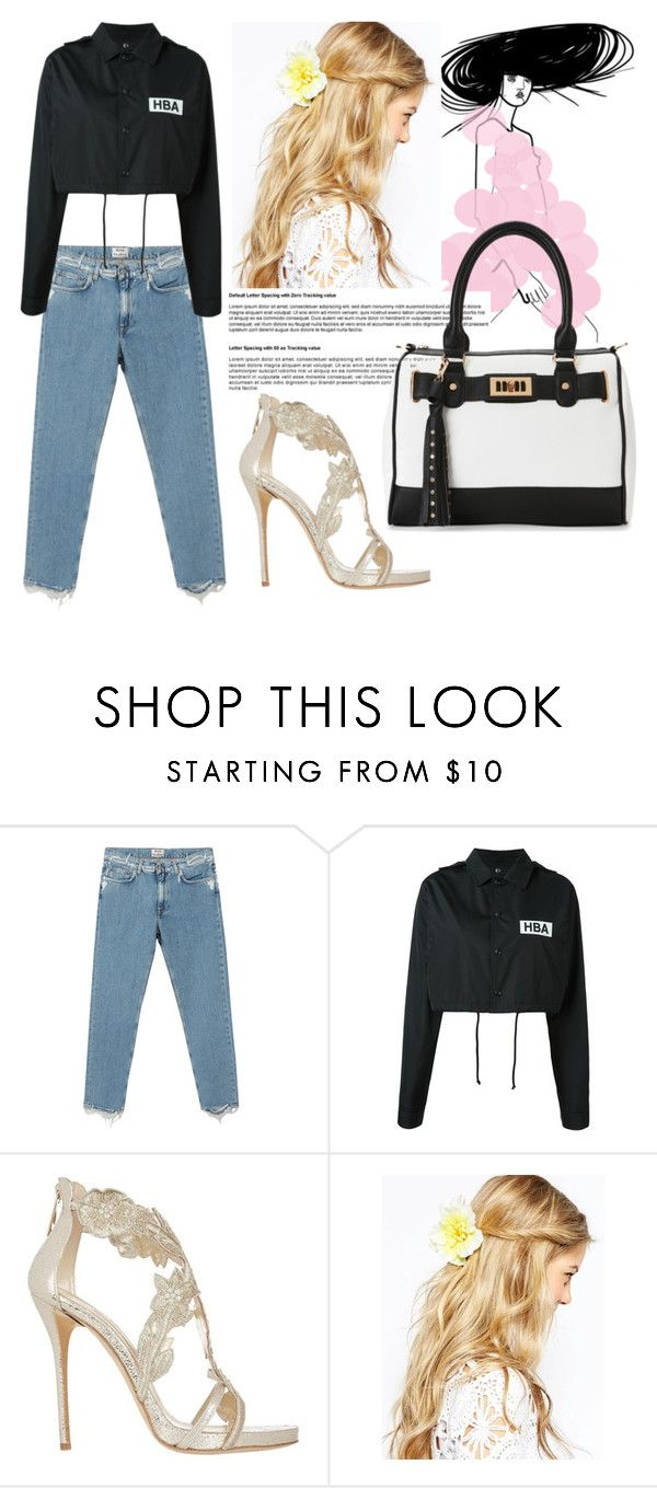 """you have forgotten"" by soidi-illis ❤ liked on Polyvore featuring Acne Studios, Hood by Air, Oscar de la Renta, ASOS and IMoshion"