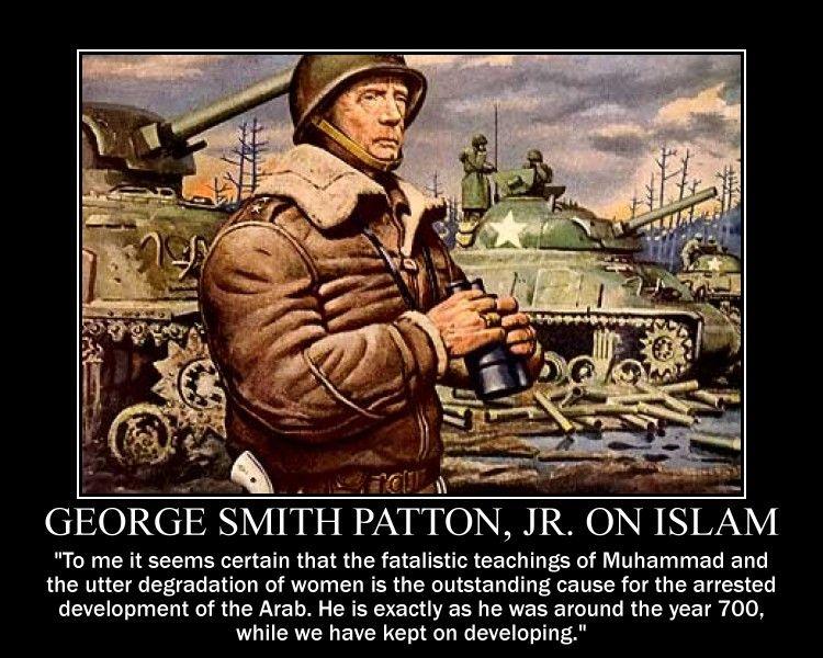 George S Patton On Islam By Fiskefyren On Deviantart Barack Obama