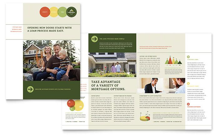 Bed  Breakfast Motel  Tri Fold Brochure Template Design By