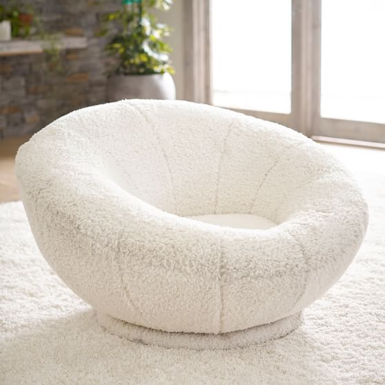Tweed Charcoal Groovy Swivel Chair In 2021 Swivel Chair Cool Chairs Comfy Chairs