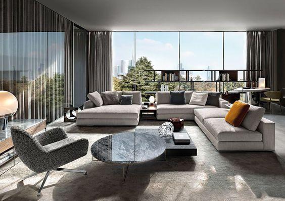 Adorable modèles du salon moderne pour 2018 | Living Room ...