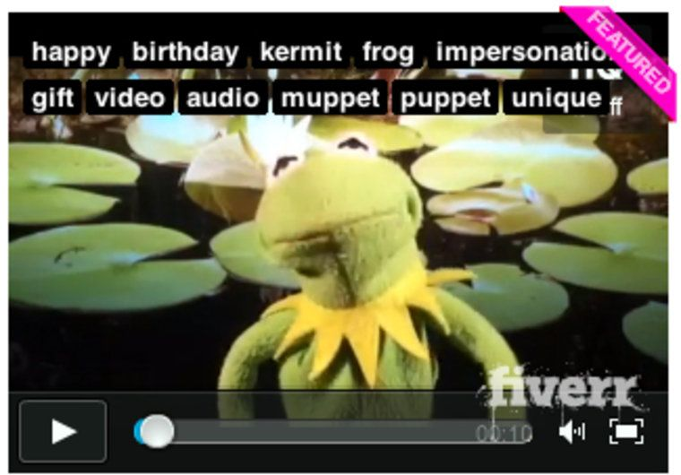 Get kermit to personalize a video birthday greeting and song wow make a video of kermit the frog singing a personalized version of the happy birthday song on fiverr m4hsunfo