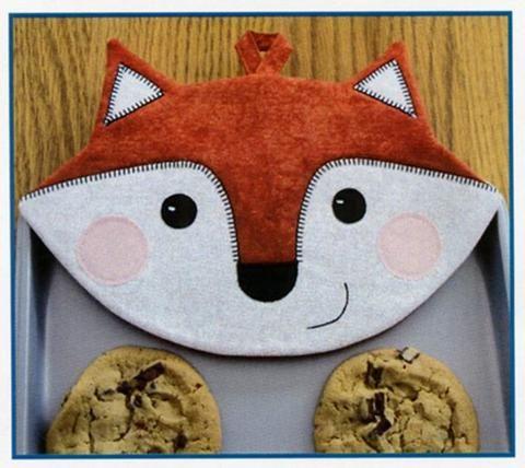 Pot Holder Pattern - Foxy Hot Pads   Sew   Pinterest   Patterns ...
