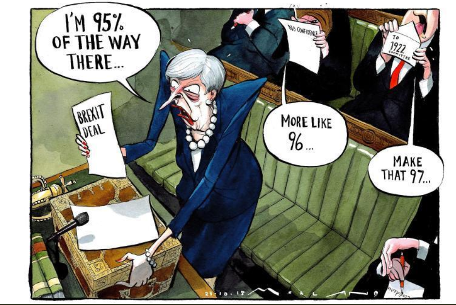 Times Cartoon I M 95 Of The Way There Political Satire