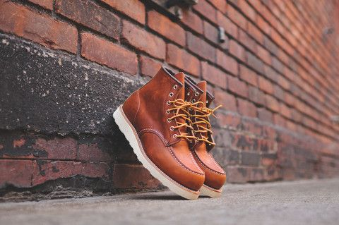 """Red Wing 6"""" Moc Toe Heritage - """"Oro Legacy"""" 