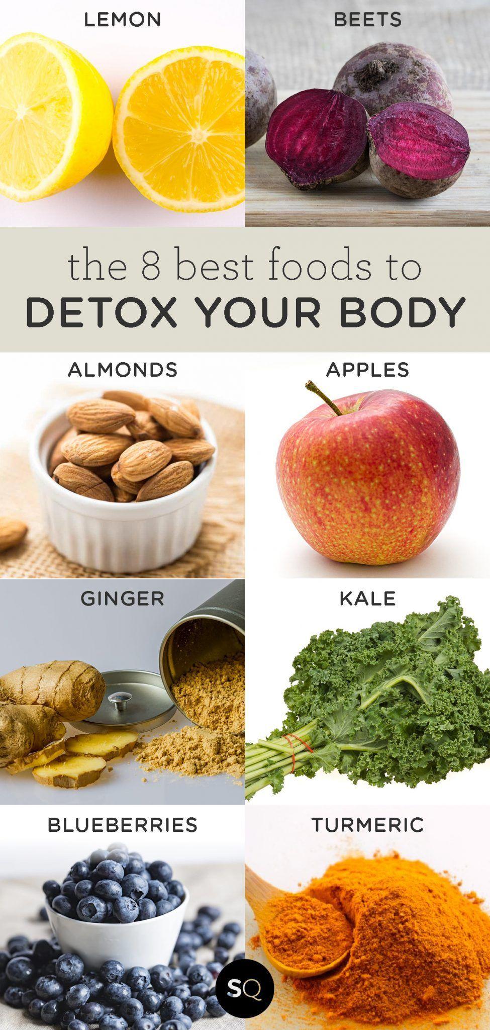 The 8 Best Foods to Detox Your Body - Simply Quinoa        Die 8 besten Lebensmittel, um Ihren Kör