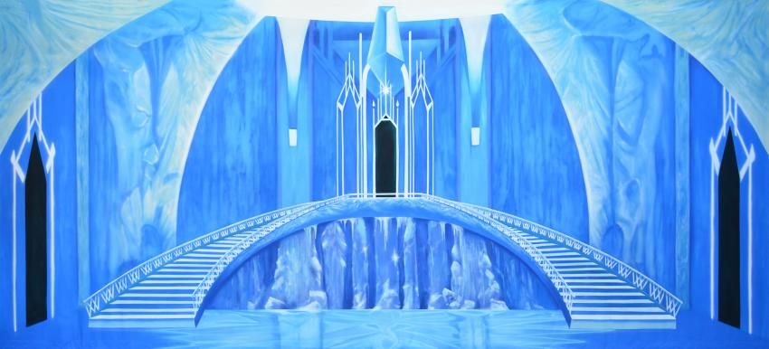Ice Castle Interior* | CK Theme: Frozen | Pinterest