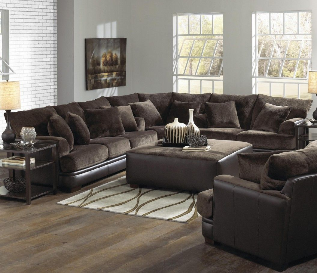 Dark Brown Couch Furniture And Furnishing Rustic Style Of Wooden Laminate