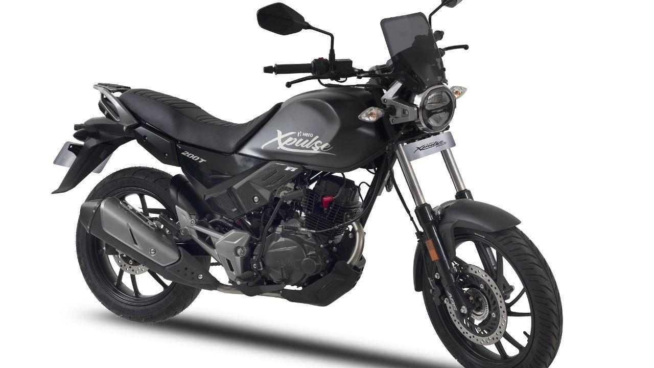 Eicma 2018 Hero Showcases The Xpulse 200t Concept Motorcycles