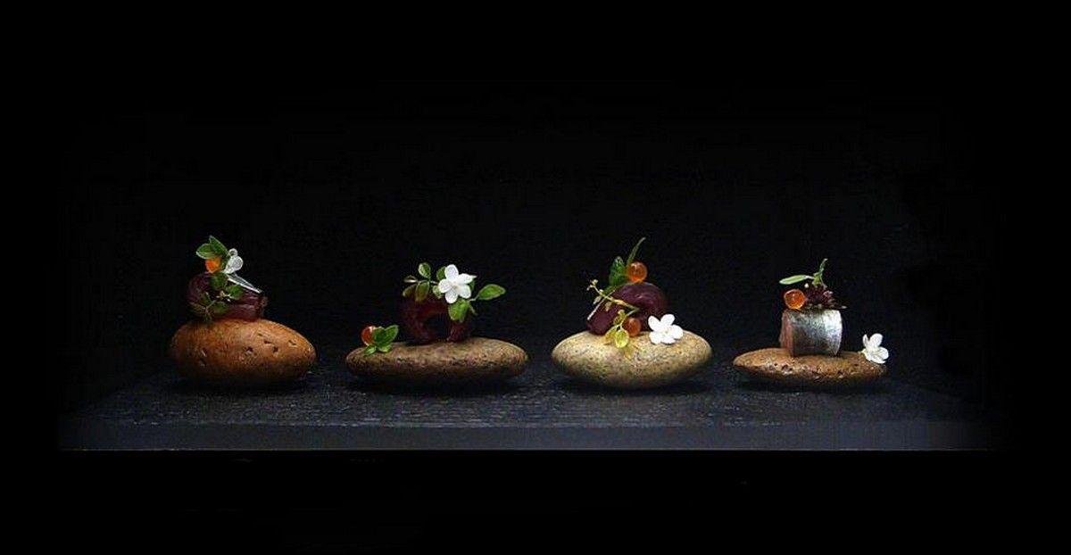 Chef Wuttisak Wuttiamporn   Le chef, Assiette, Art