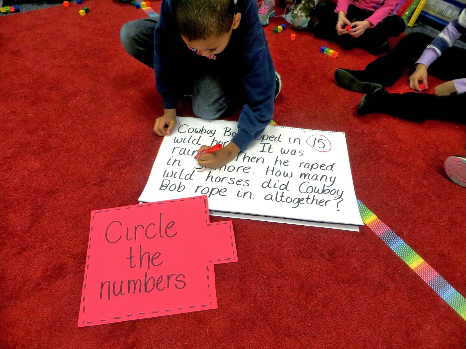 Math Thinking Patterns And Cubes Strategy First Grade Wow