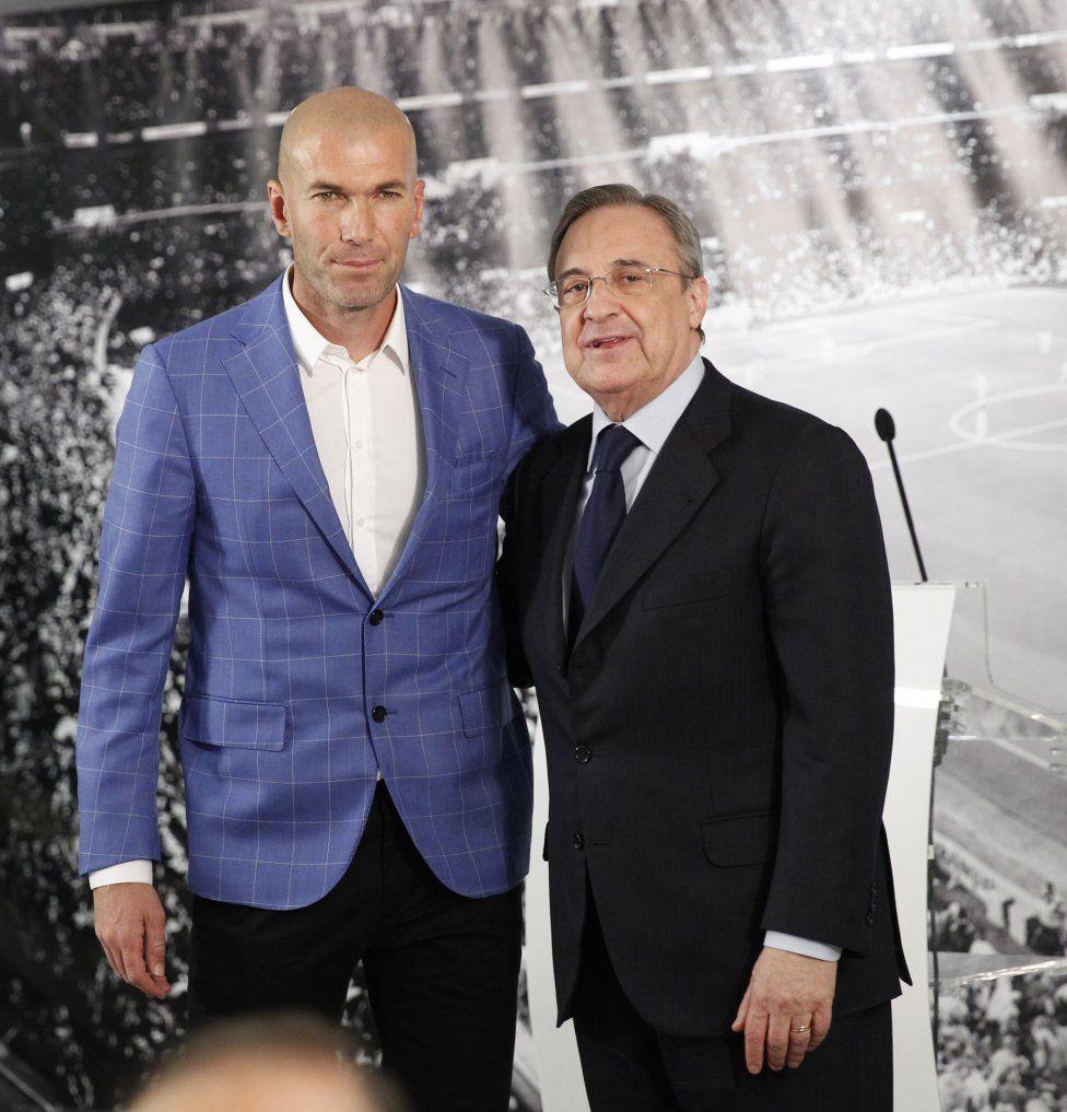 Real Madrid Zidane Nuevo Entrenador Del Real Madrid Fotogalería Album As Com Zidane Entrenamiento Real Madrid